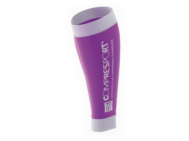 Compressport R2 Calf Sleeves purple